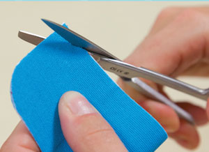 How to cut hapla tape