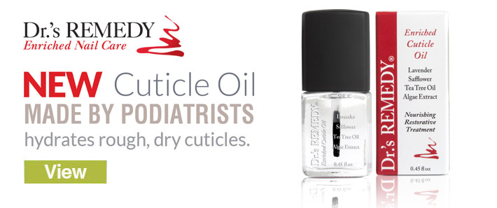 New Dr.'s Remedy Cuticle Oil