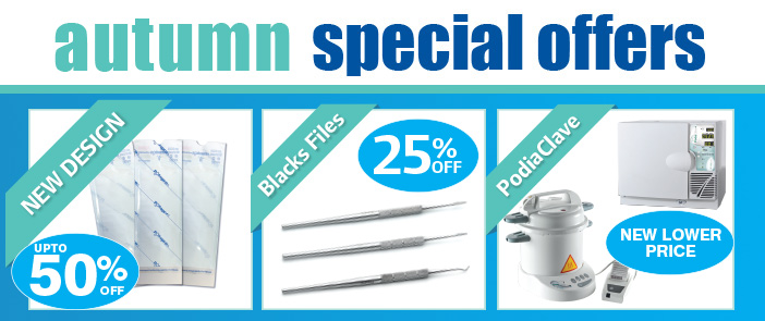 Autumn Podiatry Special Offers