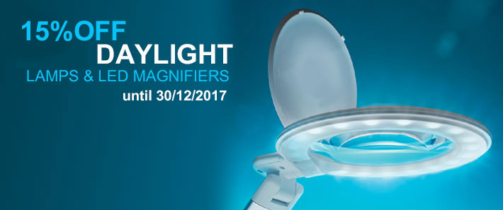 15% OFF DAYLIGHT LAMPS