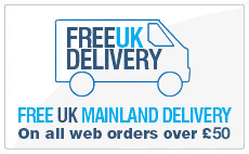 Free Delivery on podiatry products over £50 net