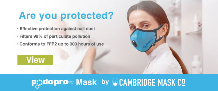 Cambridge dust mask
