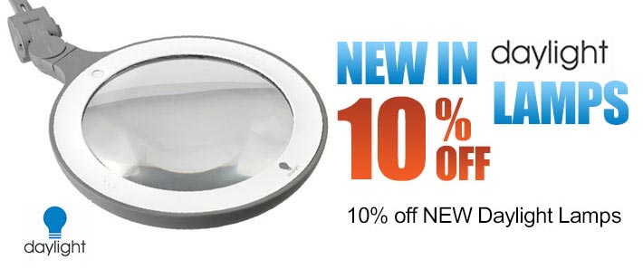 10% Off New Daylight Magnifiers