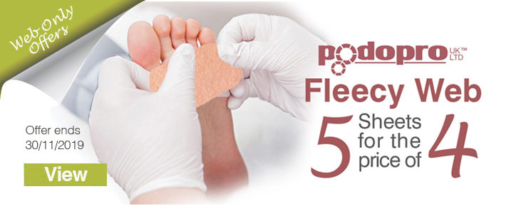 Fleecy Web Podiatry offer
