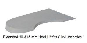 ICB orthotics heel lift