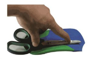 Create a plantar fascial 'relief' on ICB Orthotic