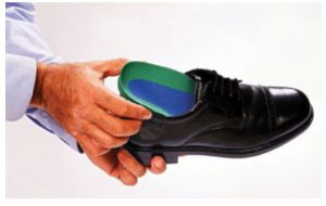 Orthotics in shoes