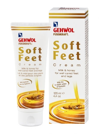 Soft Feet Cream With Milk and Honey