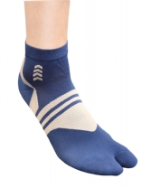 BLUE Foot Pump Socks