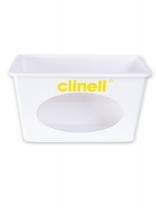 Clinell Universal Wall Mounted Wipe Dispenser White