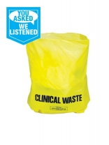 Clinical Waste Bags 29 x 39 Roll (200)