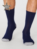 Navy Jack Socks Mens