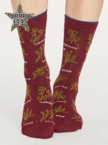 Thought Herby socks Red