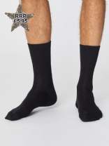 Thought Mens Jimmy Socks Black