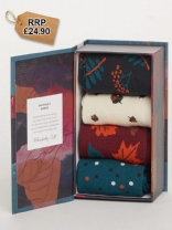 Autumn Leaves Sock Box