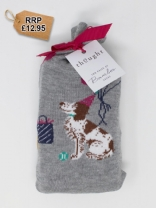Eve Bamboo Party Dog Socks Bag