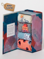 Vacanza Travel Sock Gift Box