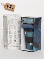 Cycler Bamboo Cup & Socks Gift Pack