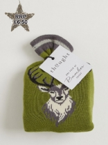 Stag Sock in a Bag