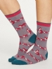 Thought Animal Kin Socks Slate Grey.